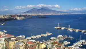 Naples' Gulf view from Posillipo