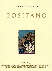 POSITANO  -  JOHN STEINBECK  - 1ST. ENGLISH LANGUAGE EDITION  -  1959