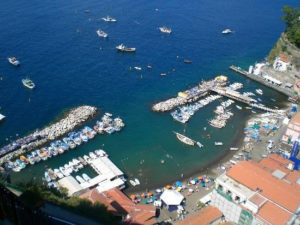 Sorrento's fishermen village