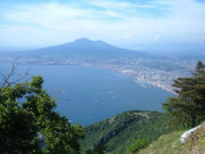 Vesuvius from Mount Faito